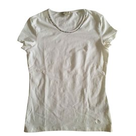 Burberry-T-shirt-White