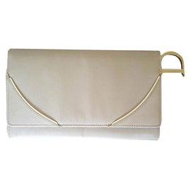 Christian Dior-Wallet-Beige