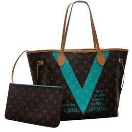 Louis Vuitton-Handbag-Brown