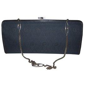 Dior-Dior pouch bag-Blue