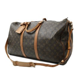 Louis Vuitton-Keepall 60-Brown