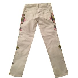 7 For All Mankind-Jeans-White