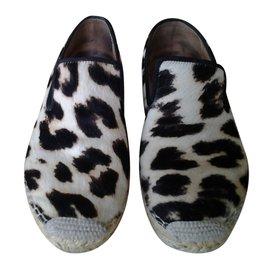 Céline-Espadrilles-Leopard print