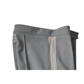 Chanel-Tailleur pantalon-Gris