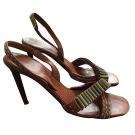 Céline-Sandals-Light brown