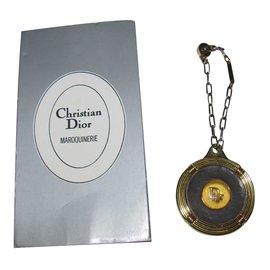Dior-Bijoux de sac-Doré