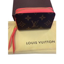Louis Vuitton-ZIPPY MULTICARTES CARD HOLDER in POPPY-Brown
