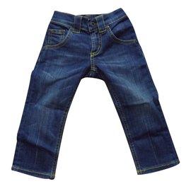 Dondup-Pantalons fille-Bleu