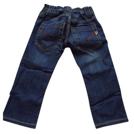 Dondup-Trousers-Blue