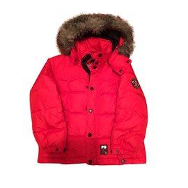 Poivre Blanc-Veste de ski garcon-Rouge