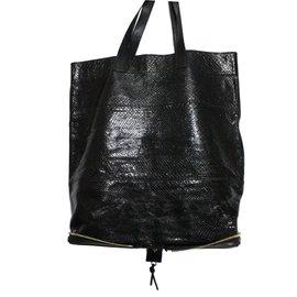 Chloé-Shopping bag-Black