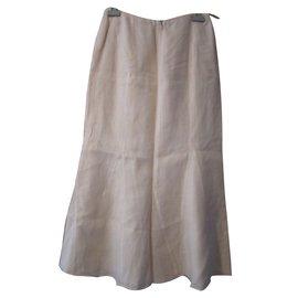 Chanel-Skirt-Beige