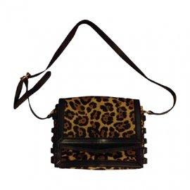 Christian Louboutin-Sacs à main-Imprimé léopard