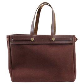 Hermès-Tote-Brown