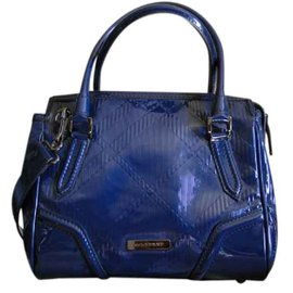 Burberry-Handbag-Blue