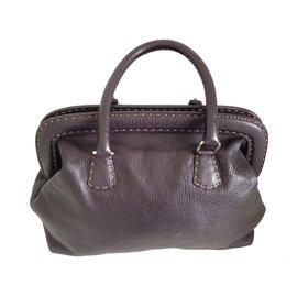 Fendi-Doctor bag-Marron