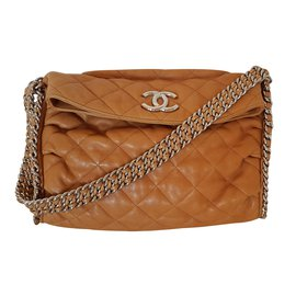 Chanel-Chain Around-Caramel