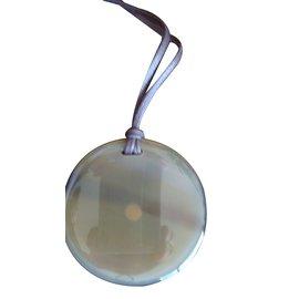 Hermès-Pendant necklace-Beige