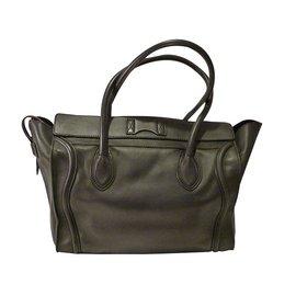 Céline-Phantom Luggage Medium-Black