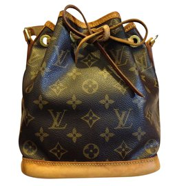 9081229292e8 Louis Vuitton-Louis Vuitton Mini Sac Noé Monogram-Brown ...