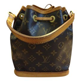 33005ed91590 ... Louis Vuitton-Louis Vuitton Mini Sac Noé Monogram-Brown