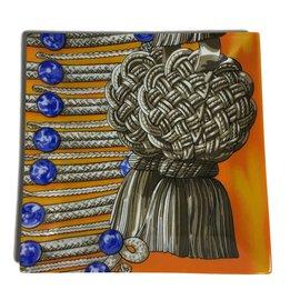 Hermès-Vide-poches-Multicolore