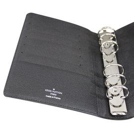 Louis Vuitton-Ring bound agenda-Grey