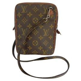 Louis Vuitton-Bags Briefcase-Brown