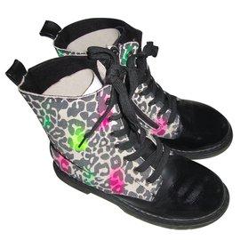 Miss Grant-Boots-Leopard print