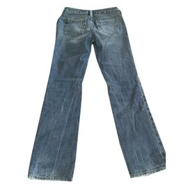 Diesel-Pantalons fille-Bleu