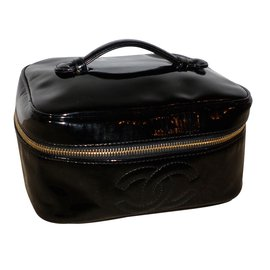 Chanel-Vanity Case-Black