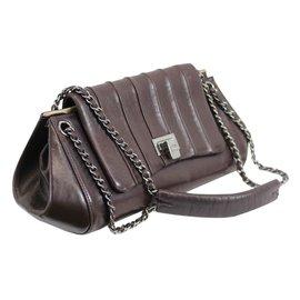 Chanel-Sac Shopping-Marron