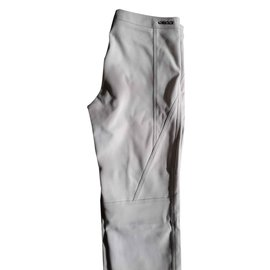 Gucci-Pantalons-Blanc