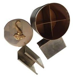 Hermès-Smoking box-Silvery