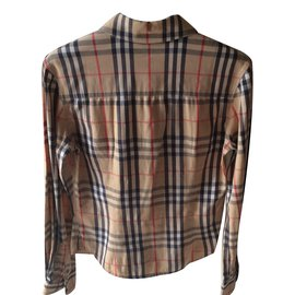 Burberry-Shirt-Brown