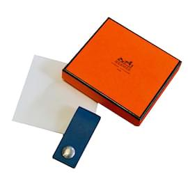 Hermès-Clé USB Lacie-Bleu