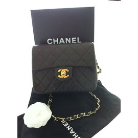 Chanel-Handbag-Brown