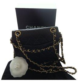 Chanel-Sac Timeless-Marron