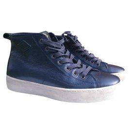 207af7521da9 Autre Marque-Baskets  Palladium -Bleu ...