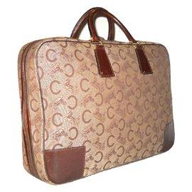 Céline-Vintage sac 24 h-Marron