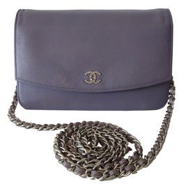 Chanel-Clutch bag-Purple