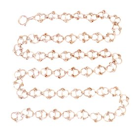 Hermès-Long necklace-Silvery