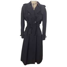 Burberry-Trench coat-Blue