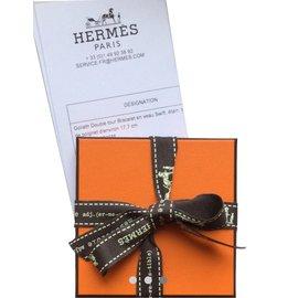 Hermès-Bracelet HERMES Goliath-Marron