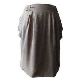 Pablo De Gerard Darel-Skirts-Beige