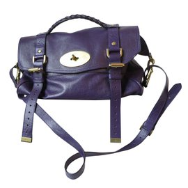 Mulberry-Alexa bag-Purple