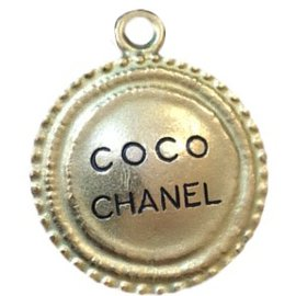 Chanel-Médaillon Coco Chanel-Doré