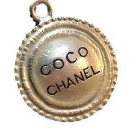 Chanel-Coco Chanel medallion-Golden