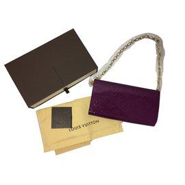 Louis Vuitton-Pochette avec chaîne-Violet