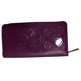 Louis Vuitton-Portefeuille Zippy-Violet